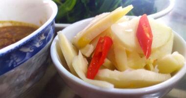 Báo Vietnamnet: Công dụng măng tre ngâm tỏi ớt với sức khỏe người dùng?
